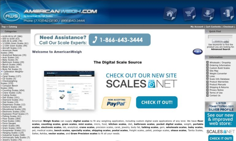 American Weigh Scales, Inc.