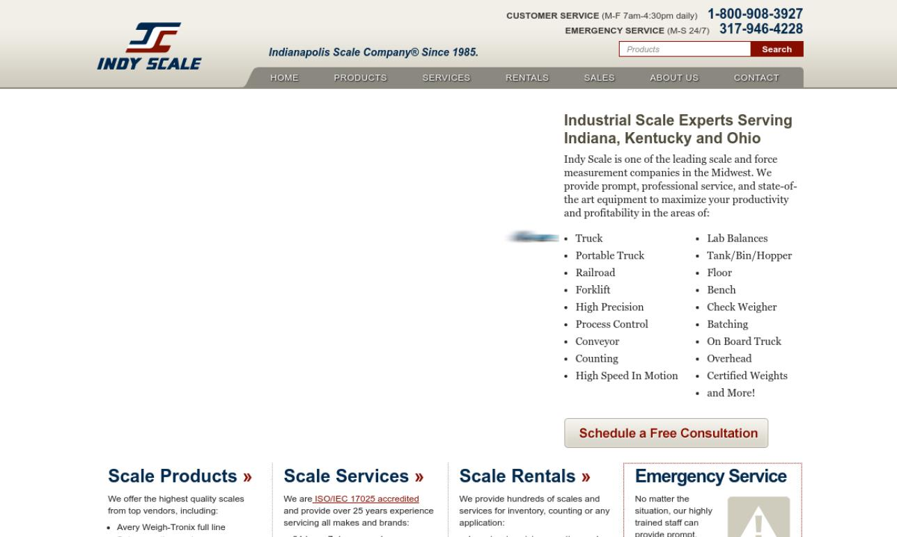 Indianapolis Scale Company