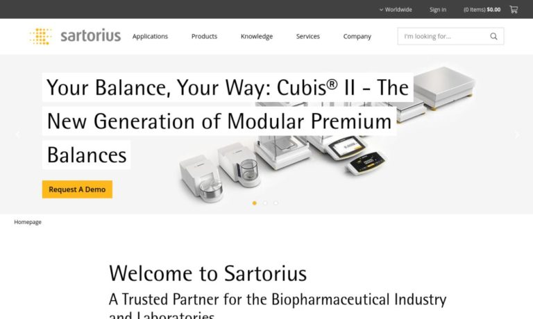Sartorius North America Inc.