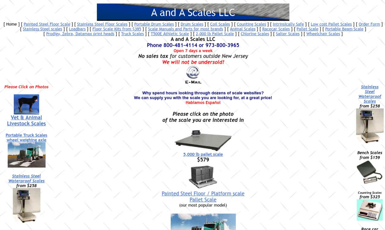 A and A Scales LLC